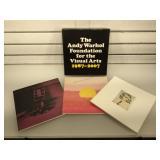 Andy Warhol 3 part visual arts photography book