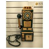 Spirit of St Louis telephone & clock