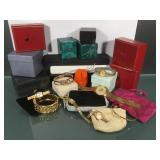 Lot of assorted costume jewelry, watches and
