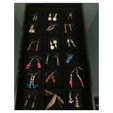 Tray lot of assorted pairs of SW earrings - tray