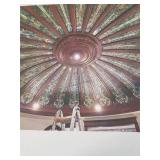 High-end Stained glass ceiling dome - 24 stained
