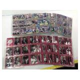 Baseball  Sports cards in pages