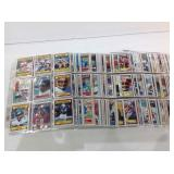 Football Sports cards in pages