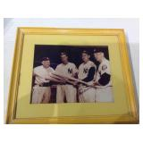 NY Yankee autographed picture