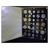 Plaque of 7- US Proof Sets, 1957-1963,