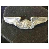 Sterling WWII U.S. Army Air Force Aircrew wings