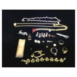 Assortment of fashion jewelry, earring, rings &