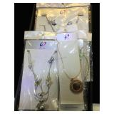 Large selection of fashion necklaces, by Jie can