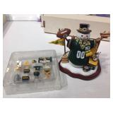 Green Bay packers display items