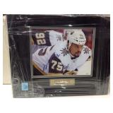 Ryan Reaves autographed framed picture
