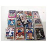 25 packs of Los Angeles dodgers cards