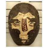 Tribal mask made from real Tortoise Shell - 17x13