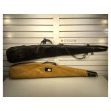 Pair of soft rifle cases - Ted Williams Sears and