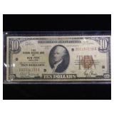 1929  $10  National Currency Note