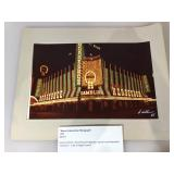 Binions Horseshoe Photograph ,signed by