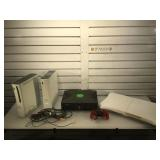 Lot of video game consoles and more - 2 Xbox 360s
