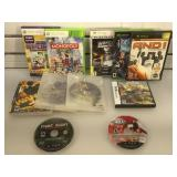 Lot of video games - Xbox, 360, PS3, DS - many in