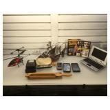Lot of assorted items - RC helicopter (no