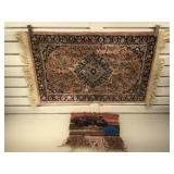 Woven Rayon entry rug 19x34 and more
