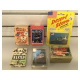Lot of military themed trading cards and more