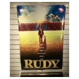Lot of 8 Rudy movie poster prints 27x40