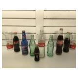 Collectable Coca-cola glasses, bottles & more