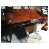 Approx. 4 foot long desk with chair