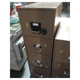 4 drawer Fireproof office filing cabinet -