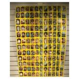 1988 uncut sheet Growing Pains collector cards