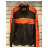 Leather Jagermeister jacket mens size (XL)
