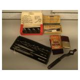 Vintage Ready Steak thermometers in original box,