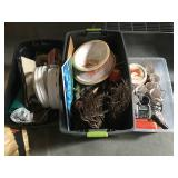 Lot of assorted household items, decorations and