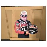 NOS John Force cardboard cut out in box