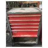 Rolling Craftsman toolbox 40 in tall