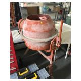 Central Machinery 3.5 cubic foot mixer - can