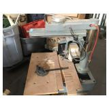 Delta Radial Arm Saw model 33-890 - tested