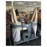 Transpower SDC-4043 dual bag dust collector with