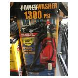 1300 PSI power washer in box - used - tested