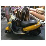 TouRing gas moped - TA50qt-7 - with key - needs