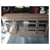 70 in long wood entertainment center tv stand