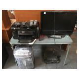 Lot of electronics - Toshiba tv with remote, HP