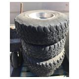 Lot of truck tires - 35x12.50R15 and others
