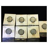 Assortment of 1- V & 6- Buffalo Nickels