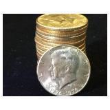 20- Kennedy Half Dollars