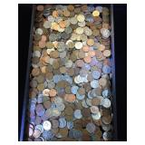 Large assortment of Canadian coins
