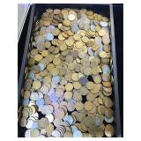 Assortment of Wheat Pennies