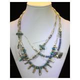 3- Southwest style necklaces