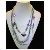 3- Southwest style necklaces,