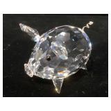 Swarovski crystal pig w/ original box, 2 inches