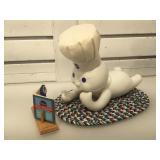 The Danbury Mint Pillsburry Doughboy porcelain